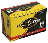 Sports & Outdoors Online Shop Ranking 18. Sunlite Bicycle Tube 26 x 1.95 - 2.125 SCHRADER Valve