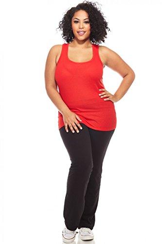 Active Womens Ladies Plus Size Yoga Pants Blk Black 3xl