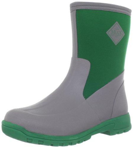 MuckBoots Women's Breezy Mid Boot,Grey/Green,9 M US Womens