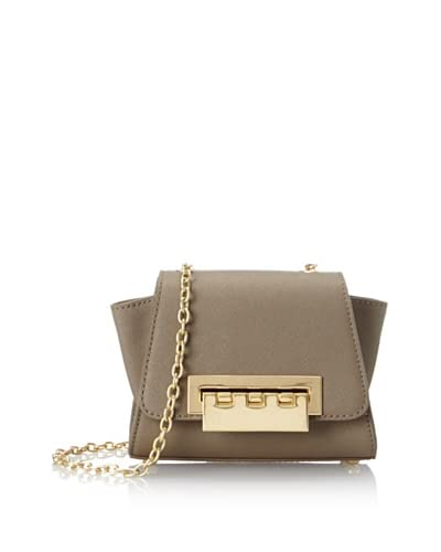 Zac Zac Posen Women's Eartha Mini Basic Cross-Body, Stone