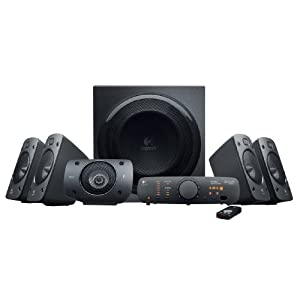 Logitech Z906  (980-000467) Surround Sound Speaker System with THX-certified, 51 Digital Surround Sound