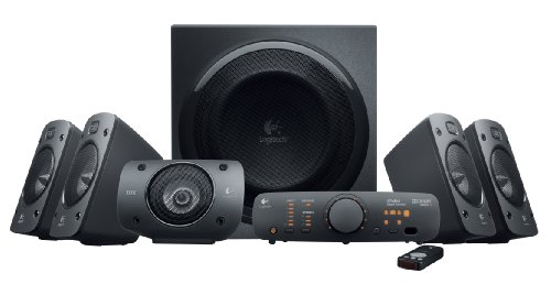 Logitech Surround Sound Speaker System Z906 (980-000467)