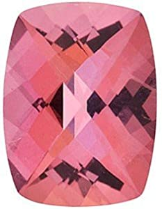 Antique Cushion Shape Pink Passion Topaz Attractive Natural Discounted Gemstone, Quality Grade, AAA 8.00 x 6.00 mm