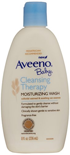 Aveeno Baby Cleansing Therapy Moisturizing Wash 0381371018444