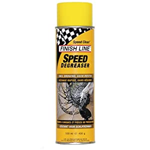 Finish Line Speed Degreaser Bicycle Cleaner & Degreaser, 17-Ounce Aerosol Spray