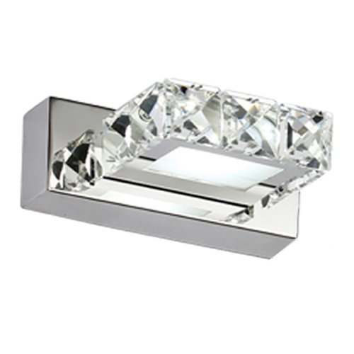 Nexium 5980 3W Cool White Led Crystal Mirror Mirror Stainless Steel Headlight Bathroom Bedroom Lighting