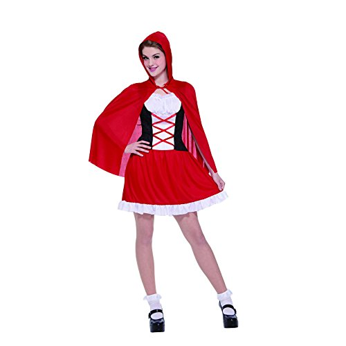 Totally Ghoul Miss Red Riding Hood Costume, One Size Fits Most