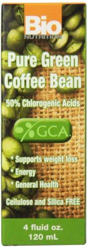 Bio Nutrition Green Coffee Liquid,4 Oz
