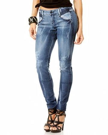 Valarie Distressed Skinny Jean :  skinny blue pants jeans