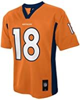 Peyton Manning #18 Denver Broncos NFL Youth Team Color Jersey Orange