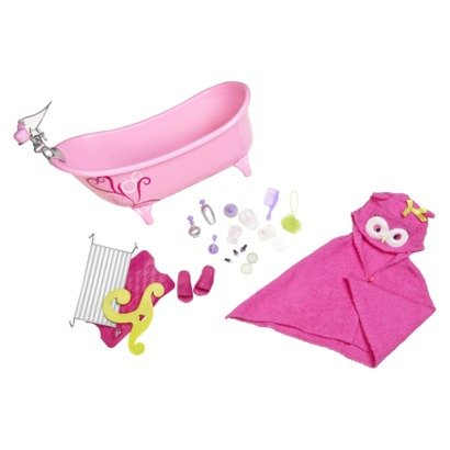 "Our Generation Slipper Tub With Beauty Products Set For 18"" Dolls front-908625"