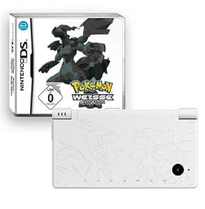 Nintendo DSi - Konsole, weiß inkl. Pokémon Weiße Edition