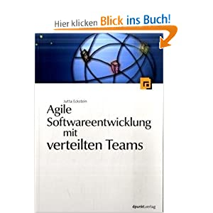 eBook Cover für  Agile Softwareentwicklung mit verteilten Teams