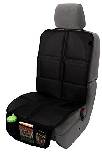 Cheapest Price! RILEY Infant Car Seat Protector. Full Size Child & Baby Auto Seat Protector Mat. Per...