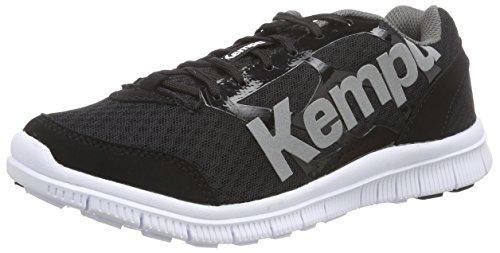 Kempa K-Float - Scarpe da Pallamano Unisex - Adulto, Multicolore (Noir/Anthra), 39.5 EU