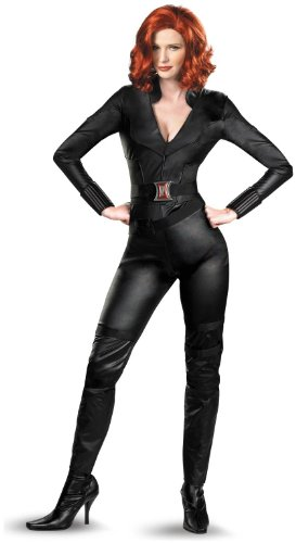 Disguise Women's Deluxe Black Widow Avengers Costume