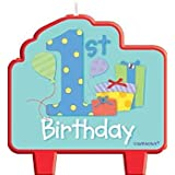 Baby Boys 1st Birthday Candle [Toy]by 1st birthday party