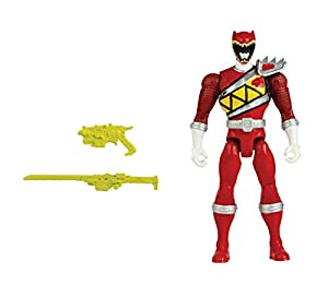 """Power Rangers Dino Charge - 5"""" Red Ranger Action Hero"""