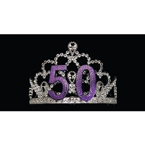 Learn More About Birthday Tiara 50 Party Accessory