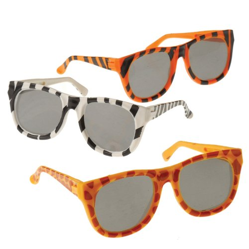 US Toy Animal Print Sunglasses Party Accessory