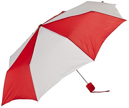 rainkist-mini-manual-folding-red-white-one-size