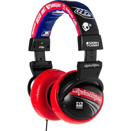 Skullcandy Hesh Headphones W/Mic - 2011 Troy Lee W/Mic (2011 Color), One Size