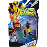 Wolverine and the X-Men Animated Action Figure Iceman (With Clothes) [Toy]