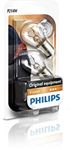 Philips 0730064 P21/4W 12594B2 Vision Indicator Bulbs Pack of 2 on Blister Pack