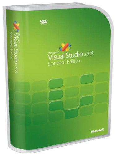 Microsoft Visual Studio 2008 Standard (Old Version)