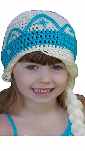 Elsa Inspired Winter Hat (Medium)