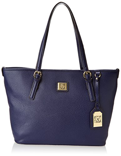 Anne Klein Perfect Tote Medium CD Shoulder Bag, Cadet, One Size