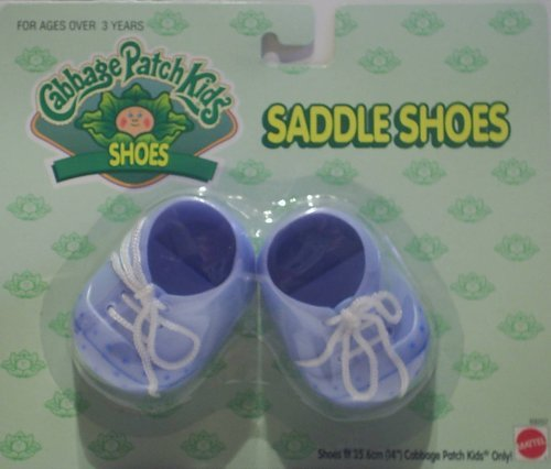 cabbage-patch-kids-cpk-dolls-shoes-blue-saddle-shoes-puppe-schuh