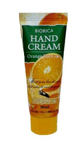 BIORICA ハンドクリーム天然由来オレンジフルーツエキス