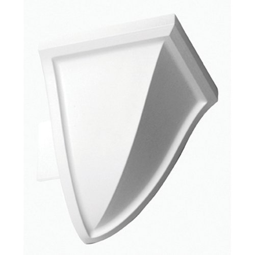 Focal Point 21620 4 1/8-Inch Quick Clips System A Outside Corner Block 3-Inch by 3-Inch by 3 1/2-Inch, White