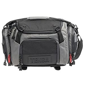 Tenba 632-612 Shootout Medium Shoulder Bag (Silver/Black)