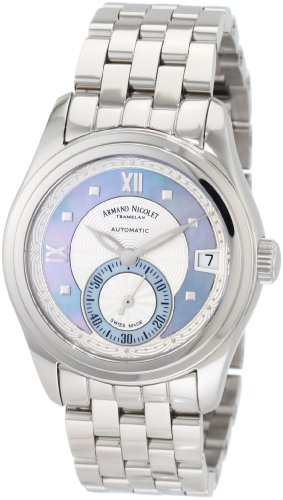 Armand Nicolet Women's 9155A-AK-M9150 M03 Classic Automatic Stainless-Steel Watch