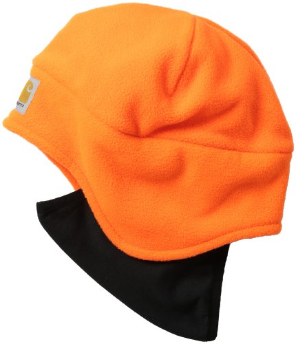 Carhartt Men's High Visibility Color Enhanced 2 In 1 Hat,Brite Orange,One Size