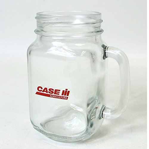 Case IH Logo 16 Oz Mason Jar Mug (Outback Mason Jar compare prices)