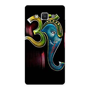 Om Ganesha Back Case Cover for Samsung Galaxy A5