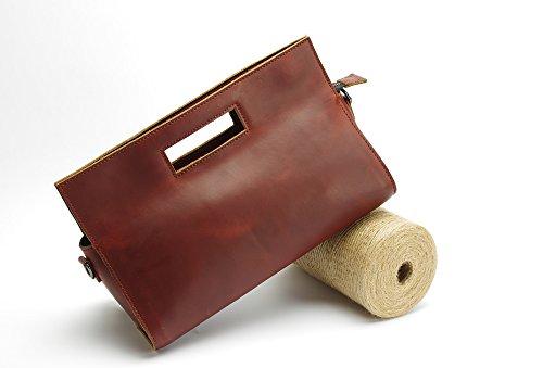 fine-handmade-leather-bags-women-cowhide-retro-boston-bag-mobile-shoulder-large-pillowbrown