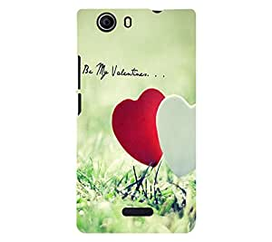 Perfect print back cover for Micromax Canvas Nitro 2 E311