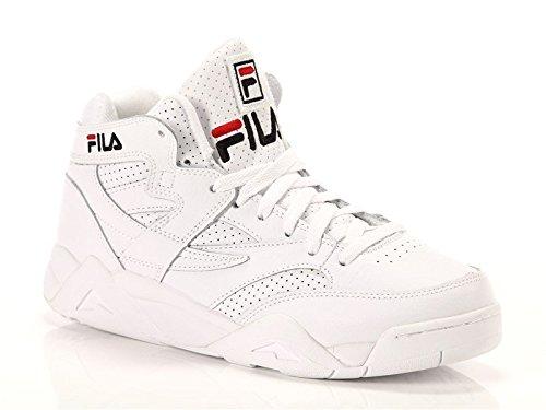 Fila, Uomo, M Squad, Pelle, Sneakers Alte, Bianco, 43 EU
