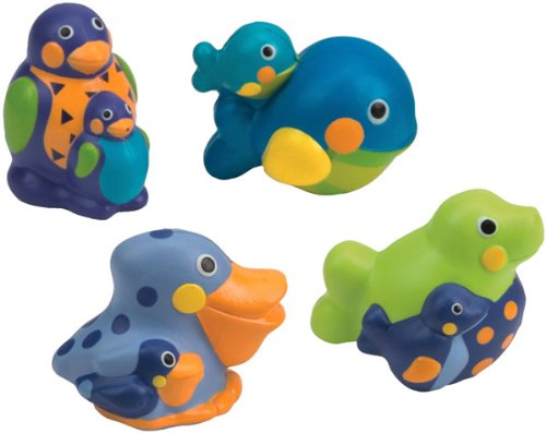 Sassy 117 - Squirting Sea Creatures (Pack of 4)
