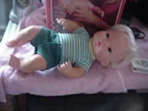 Amazon.com: Vintage 1975 Mattel Tender Love Baby Brother Caucasian Doll: Toys & Games