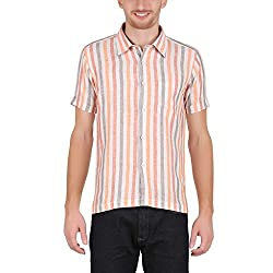 ALLTIMES Men's Multi Color Color Shirts