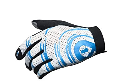 Six Six One Raji Mountain Bike Glove Cyan, XXL by SixSixOne