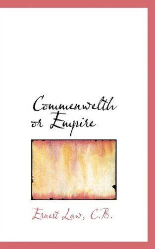 Commenwelth or Empire