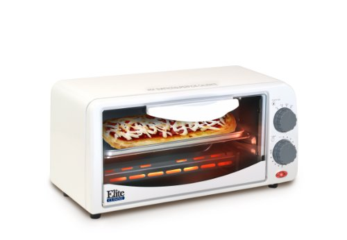 ETO-113	Elite Cuisine ETO-113 Maxi-Matic 2-Slice Toaster Oven with 15 Minute Timer, White (Small 2 Slice Toaster Oven compare prices)