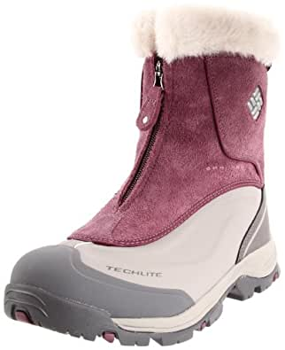 Columbia Sportswear Women's Bugaboot Plus Zip Omni-Tech Cold Weather Boot,Plum Wine,5 M US