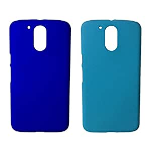 Piloda 2 Piece Good Quality Hard Back Case Cover For Motorola Moto G4 Plus